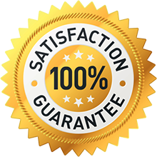 Priority One - 100% satisfaction guarantee
